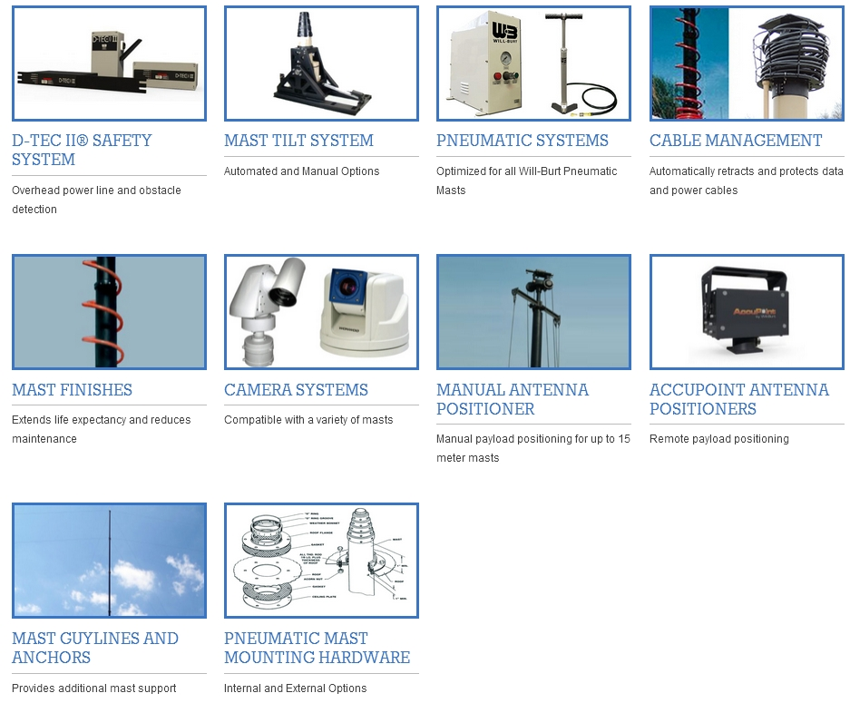WB Mast Accessories
